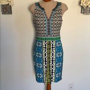 Hale Bob Printed Jersey Dress